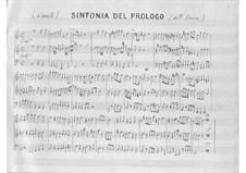 L'Orione: Prologue by Pietro Francesco Cavalli