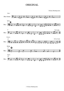 Original: Bass guitar part by Felicity Mathiopoulos