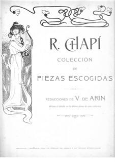 La Corte de Granada: La Corte de Granada by Ruperto Chapí