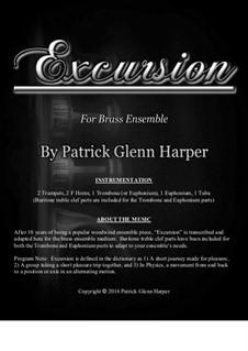 Excursion: For brass ensemble by Patrick Glenn Harper