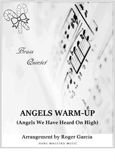 Angels We Have Heard on High: For brass quintet by folklore