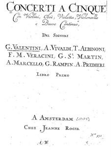 Concerto A5 No.3: Concerto A5 No.3 by Giuseppe Valentini