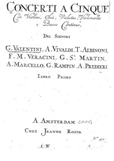 Concerto A5 No.4: Concerto A5 No.4 by Giuseppe Valentini