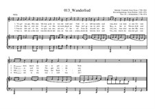 Wanderlied: Wanderlied by Friedrich Fesca