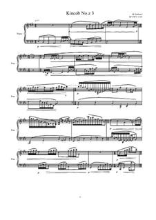 Kincob No.z3 for piano, MVWV 1119: Kincob No.z3 for piano by Maurice Verheul