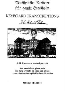 Musical Portrait J. H. Roman: Part I by Johan Helmich Roman