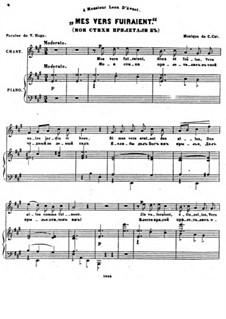 Sept Melodies, Op.32: No.2 Mes vers fuiraient by César Cui