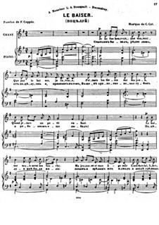 Sept Melodies, Op.32: No.7 Le baiser by César Cui