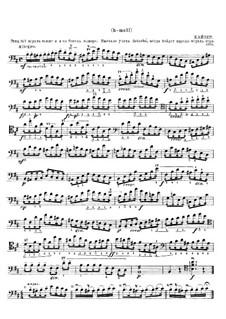 Etude in B Minor: Etude in B Minor by Reinhard Keiser