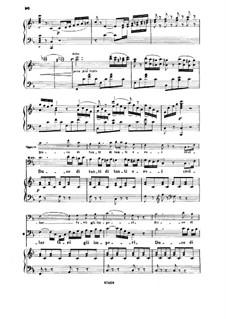 Le siège de Corinthe (The Siege of Corinth): Duce di tanti eroi. Recitative and Aria for Baritone by Gioacchino Rossini
