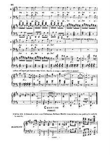 La gazza ladra (The Thieving Magpie): Il mio piano e preparato. Aria for Bass by Gioacchino Rossini