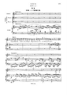 La fille du régiment (The Daughter of the Regiment): Par le rang et par l'opulence. Recitative and Aria for soprano by Gaetano Donizetti