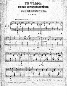 Dans les bois (In the Forest), Op.86: Pieces No.1-2 by Stephen Heller