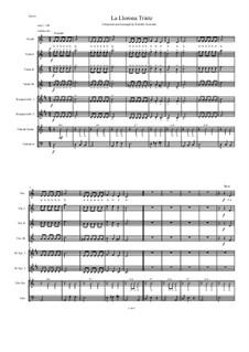 La Llorona Triste: For intermediate mariachi by Rodolfo Gonzalez