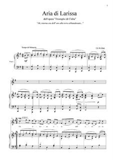 Il trionfo di Clelia: Ah, ritorna età dell oro... by Christoph Willibald Gluck