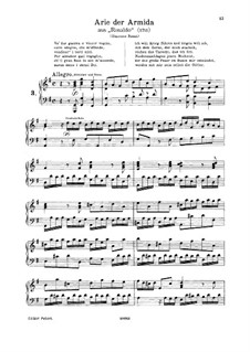 Vo' far guerra: G Major by Georg Friedrich Händel