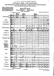 Die Brautwahl (The Bridal Choice), BV 261 Op.45: Ghostly Music by Ferruccio Busoni