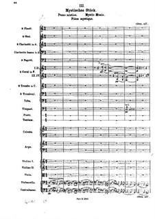 Die Brautwahl (The Bridal Choice), BV 261 Op.45: Mystic Music by Ferruccio Busoni