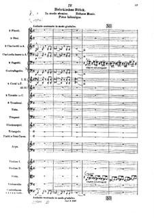 Die Brautwahl (The Bridal Choice), BV 261 Op.45: Hebrew Music by Ferruccio Busoni