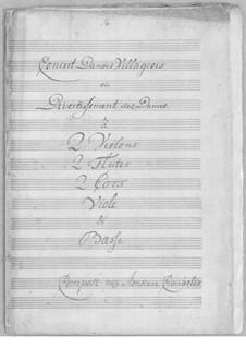 Concert Danois Villageois, or Divertissement des Dames: Concert Danois Villageois, or Divertissement des Dames by Simoni dall Croubelis