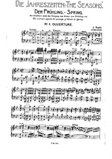 The Seasons, Hob.XXI/3: Movement I. Spring, No.1-8 by Joseph Haydn