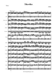 Tico-Tico no fubá: For russian folk orchestra by Zequinha de Abreu
