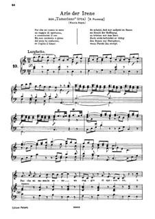 Tamerlano, HWV 18: Par che mi nasca in seno by Georg Friedrich Händel