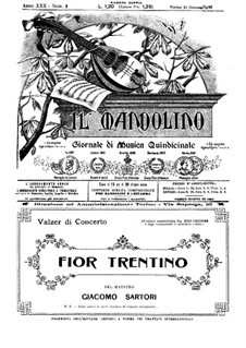 Fior Trentino: Fior Trentino by Giacomo Sartori