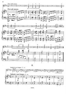 Sonata for Violin and Piano in D Major, Op.84: Movement II by César Cui