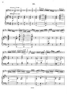 Sonata for Violin and Piano in D Major, Op.84: Movement III by César Cui