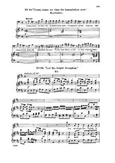 Samson, HWV 57: Let the Bright Seraphim. Recitative and Aria for soprano by Georg Friedrich Händel