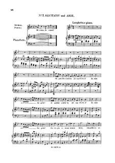 Saul, HWV 53: Oh godlike youth! Recitative and Aria for soprano by Georg Friedrich Händel