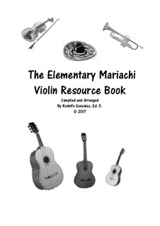 Elementary Mariachi: Violin part by folklore