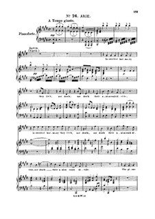 Saul, HWV 53: In sweetest harmony they lived. Aria for tenor/soprano (David) by Georg Friedrich Händel
