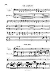 Saul, HWV 53: What abject thoughts a prince can have! Aria for soprano by Georg Friedrich Händel