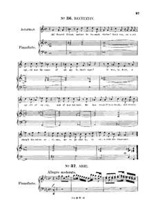 Saul, HWV 53: But sooner Jordan's stream. Recitative and Aria for tenor by Georg Friedrich Händel