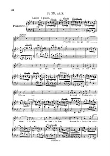 Saul, HWV 53: From this unhappy day. Aria for soprano/tenor by Georg Friedrich Händel