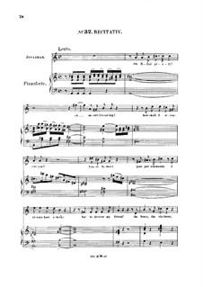 Saul, HWV 53: No, no, cruel father, no! Recitative and Aria for tenor by Georg Friedrich Händel