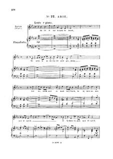 Saul, HWV 53: Oh let it not in Gath be heard. Aria for tenor by Georg Friedrich Händel