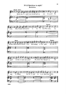 Samson, HWV 57: Total eclipse! No sun, no moon. Recitative and Aria for tenor by Georg Friedrich Händel