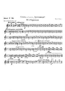 Suite from Ballet 'Arlekinada': No.1 Serenade by Riccardo Drigo
