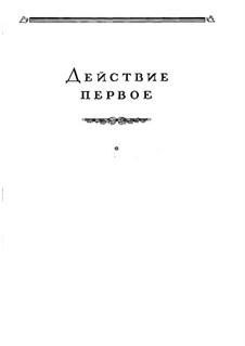 Mazepa, TH 7: Act I, No.1 Girl's Choir and Scene by Pyotr Tchaikovsky