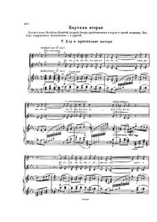 Mazepa, TH 7: Act I, No.7-8 – piano-vocal score by Pyotr Tchaikovsky