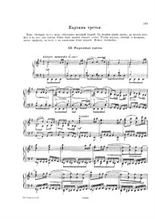 Mazepa, TH 7: Act II, No.13-14 – piano-vocal score by Pyotr Tchaikovsky