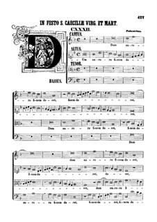 Dum aurora finem daret: Dum aurora finem daret by Giovanni da Palestrina