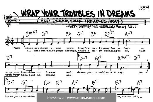 Wrap Your Troubles in Dreams (And Dream Your Troubles Away): For any instrument by Harry Barris