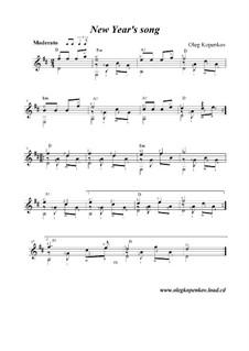 New Year's Song, Op.8: New Year's Song by Oleg Kopenkov