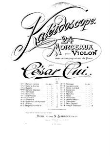 No.3 Musette: Score, solo part by César Cui