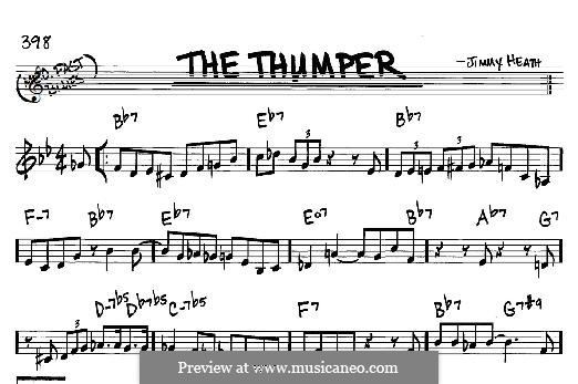 The Thumper: For any instrument by Jimmy Heath