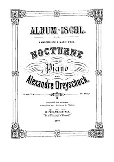Nocturne for Piano, Op.142 No.4: Nocturne for Piano by Alexander Dreyschock